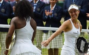 Angelique Kerber reconoció que Serena Williams fue la mejor en la final