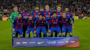 El once del Barça ante el Leganés