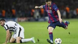 Messi, en su último duelo ante la Juventus
