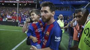 Leo Messi ha sumado ya 30 títulos con la camiseta del Barça