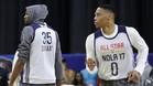 ¿Se acabó el mal rollo entre Durant y Westbrook? Veremos tras el All Star