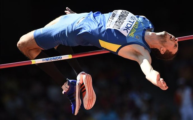 El ridículo salto de trampolín de la rusa Nadezhda