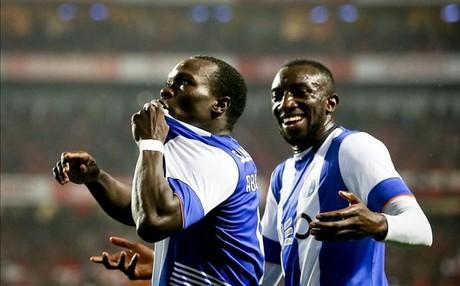 El camerun�s Aboubakar marc� el gol de la victoria del Porto