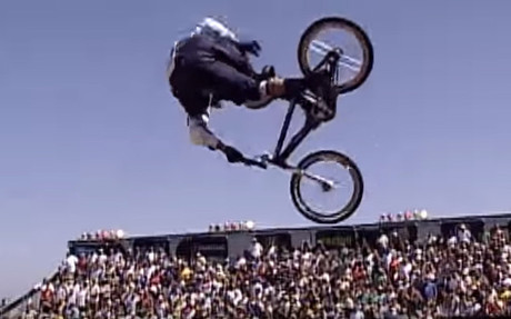 Dave Mirra, leyenda de la BMX