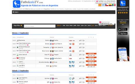 FutbolenlaTV.com abre fronteras y llega a Argentina, Chile, Colombia y M�xico