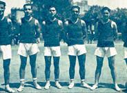 Imagen del equipo azulgrana a principios de la d�cada de los a�os 30�