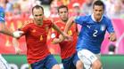 """Iniesta y Jordi Alba, en el equipo ideal de \""""L'Equipe\"""""""