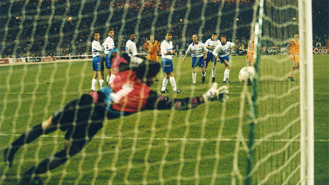 Las mejores imágenes de la final de la Copa de Europa que conquistó el FC Barcelona en Wembley