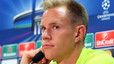 Comment: When Ter Stegen can play in place of Sergio Busquets...