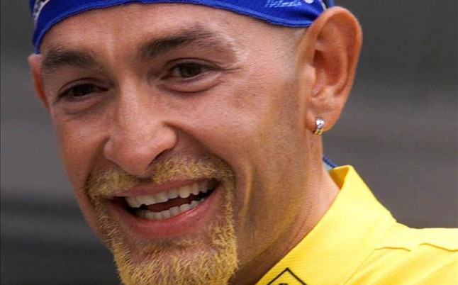 La personalidad de Marco Pantani era arrolladora