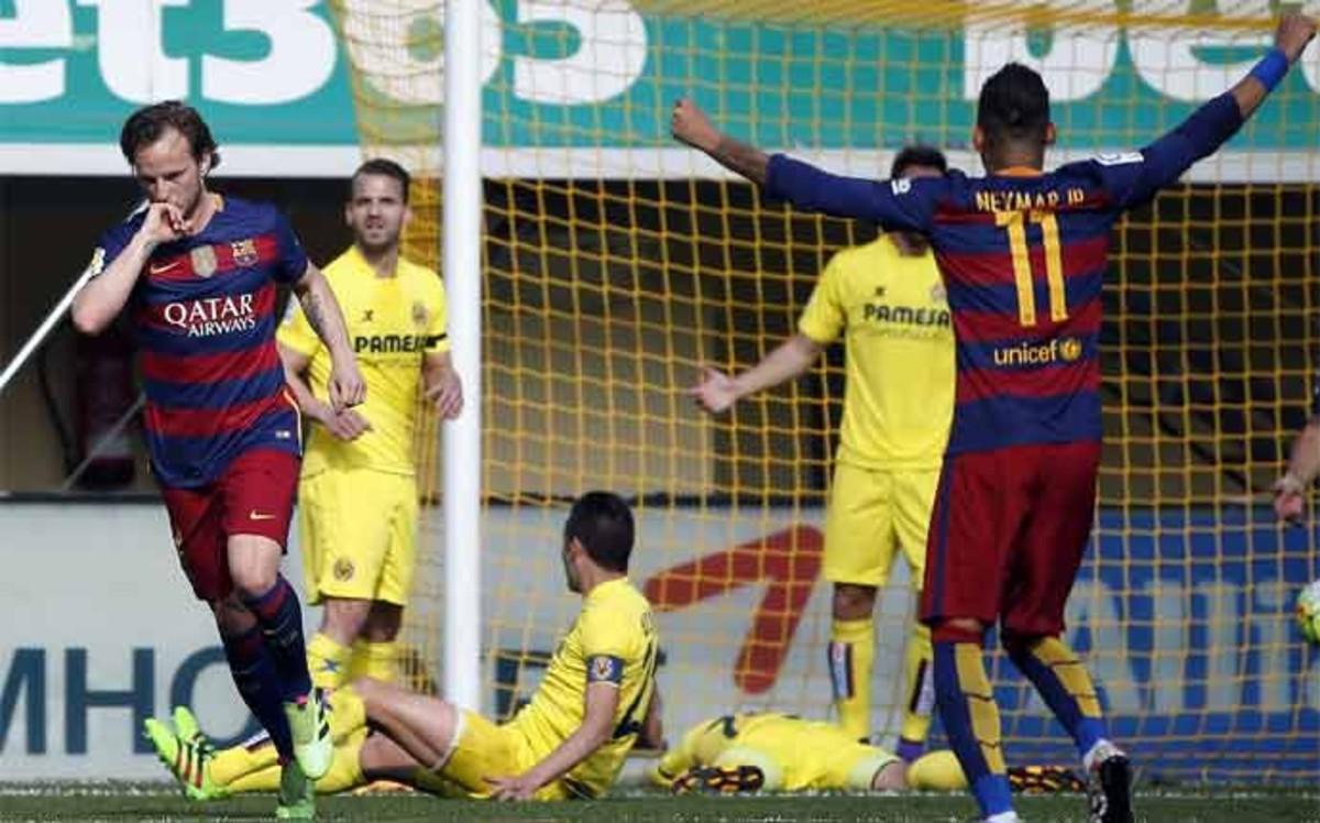 El 1x1 del Barcelona ante el Villarreal