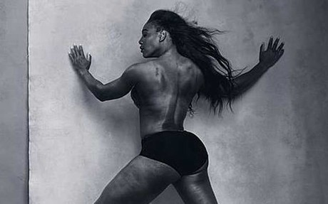 Serena Williams se luce en el Calendario Pirelli