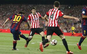 El último precedente se encuentra en la final de la temporada pasada, cuando el Barça ganó en el Camp Nou