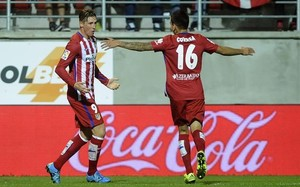 Fernando Torres marcó su gol 99 con el Atlético en Eibar el 19 de septiembre