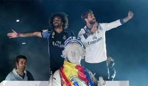 Los jugadores del Real Madrid insultaron a Piqué