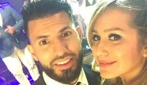 El Kun Agüero y Karina ya están en Rosario