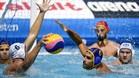 Un lance del partido entre España y Kazajistán