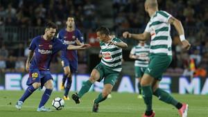Messi abrió la lata ante el Eibar