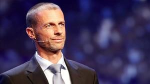 Ceferin quiere instaurar cambios en el fútbol profesional