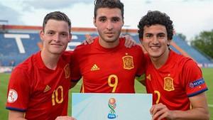 Sergio Gómez, Abel Ruiz y Mateu Jaume son tres de los barcelonistas que estarán en el Mundial