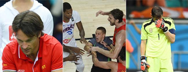 El 'annus horribilis' del deporte espa�ol