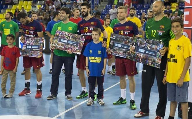 El club despidi� con todos los honores a Saric, Sigurdsson, Gurbindo y Sarmiento