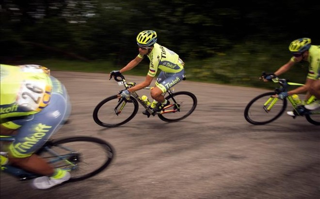 Contador llega muy motivado al Tour de Francia
