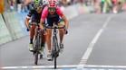 Diego Ulissi, un toscano de 16 a�os, logr� as� su segunda victoria del Giro al superar a Andrey Amador