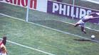 El no gol de Míchel ante Brasil en Mexico 1986