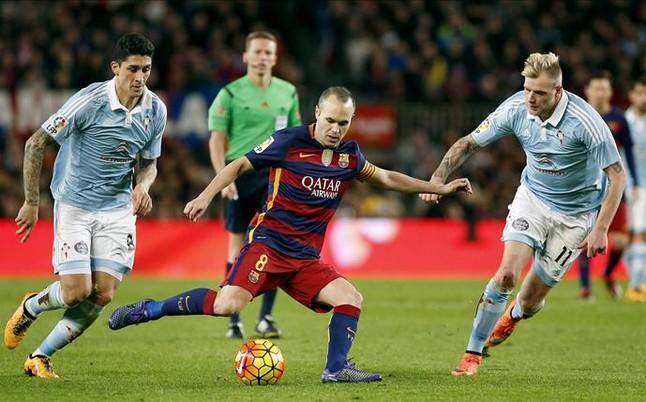 """Iniesta: """"Somos muy respetuosos con el rival, no hay debate"""""""