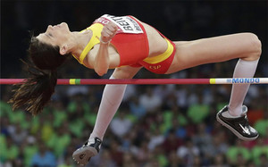 Ruth Beitia, sin rivales en salto de altura