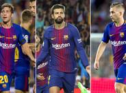 Srergi Roberto, Gerard Piqué y Gerard Deulofeu renovarán sus contratos