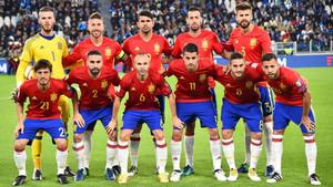 The Spanish national team