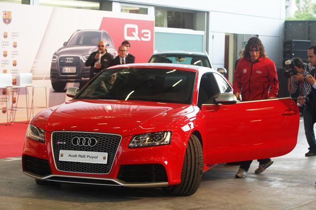 Los nuevos Audi de los jugadores