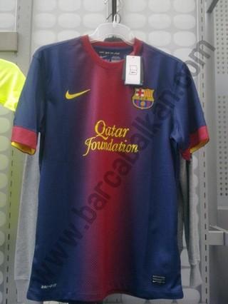 پیراهن جدید بارسلونا