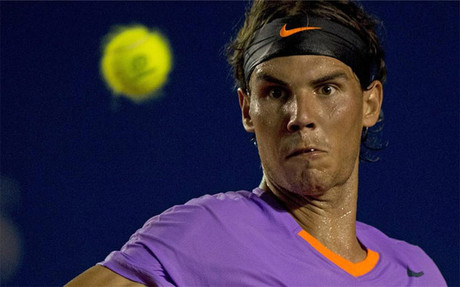 Nadal, en el Torneo de Acapulco