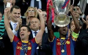 Abidal levantó la última Champions del Barça