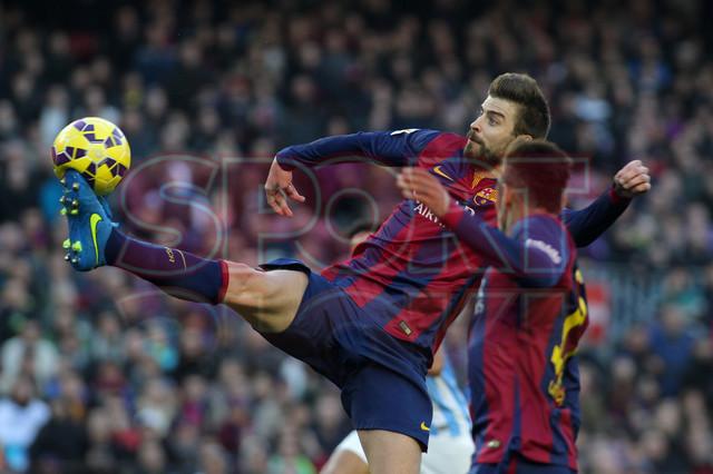 صور : مباراة برشلونة - ملقا  0-1 ( 21-02-2015 )  1424541222162