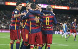 El FC Barcelona no depende de sí mismo para proclamarse campeón de invierno con un partido de menos