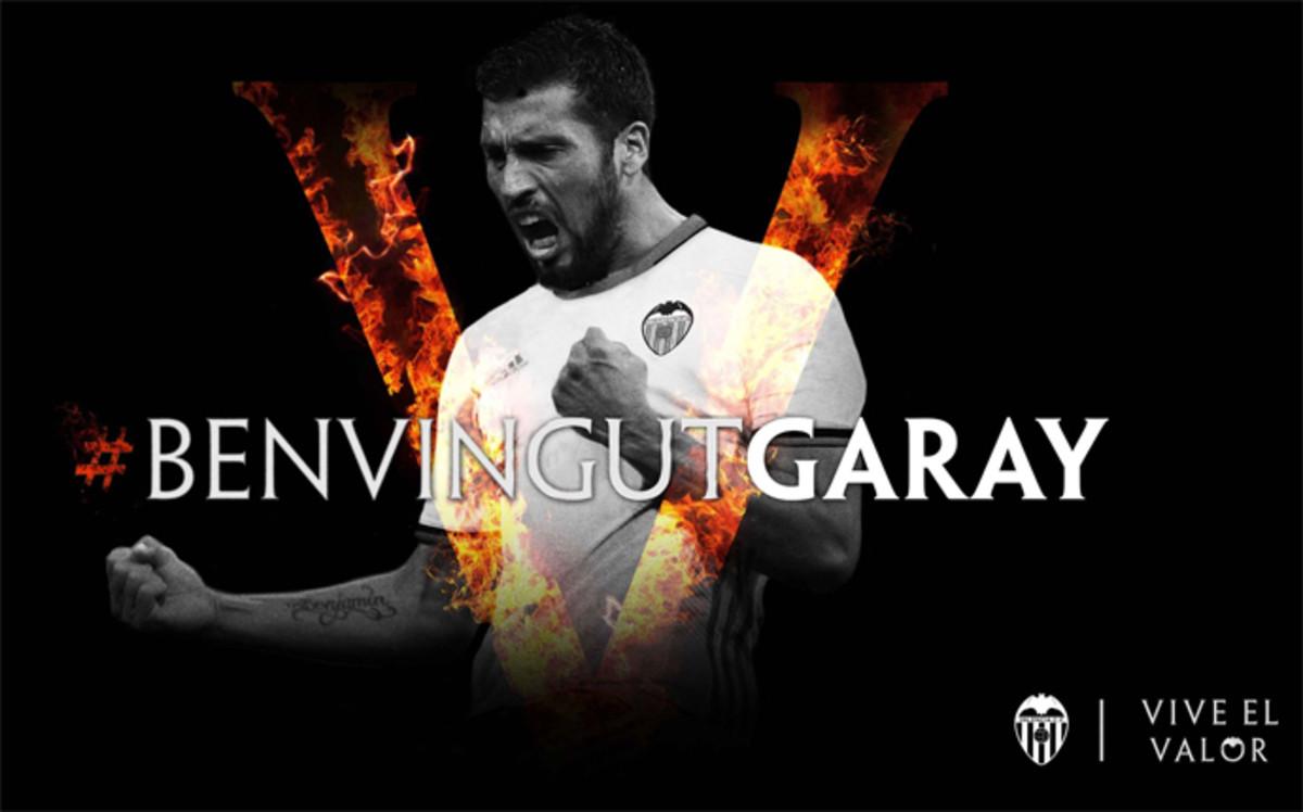 Ezequiel Garay nuevo jugador del Valencia