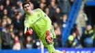 Courtois no quiere renovar bajo las condiciones que le propone el Chelsea