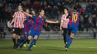 El Barça derrotó en la primera vuelta al Athletic