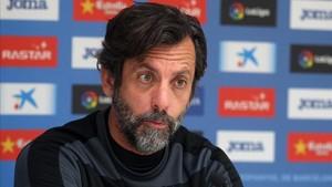 Quique ve esta vez más posibilidades de ganar al Barça