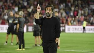 Quique Sánchez mostró su satisfacción tras concluir la temporada con una victoria en Granada
