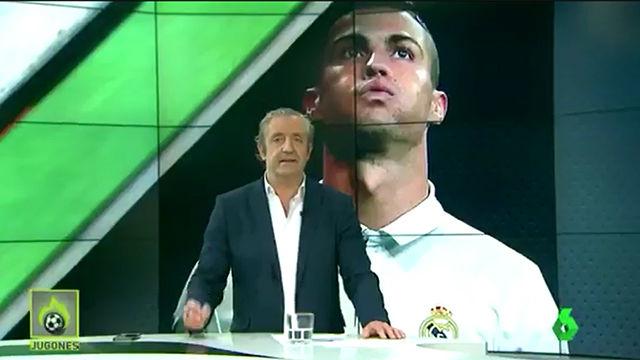 Duro mensaje de Pedrerol a Cristiano Ronaldo