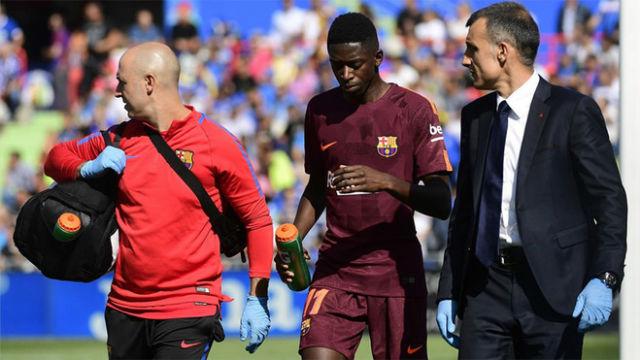 LALIGA | Getafe-Barça (1-2): Así fue la lesión de Dembélé