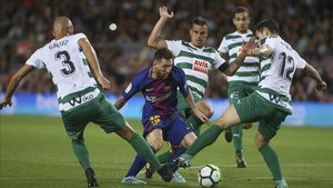 Messi sigue en estado de gracia