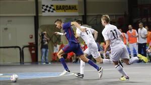 El Barça Lassa ha marcado nueve goles y no ha recibido ninguno