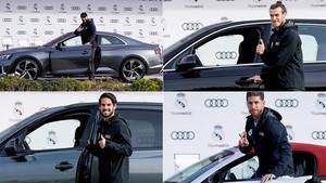 Audi repartió coches entre los jugadores del Real Madrid