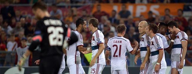 El Bayern de Pep 'incendia' Roma